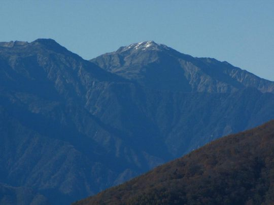身延山からの富士山-3