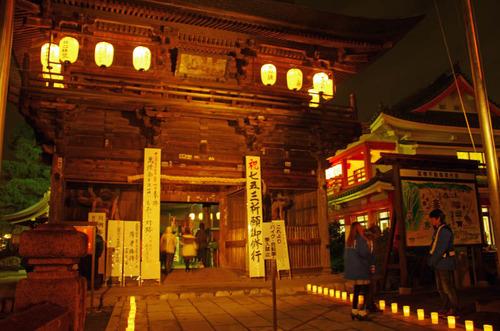 高幡不動尊万燈会201211-13
