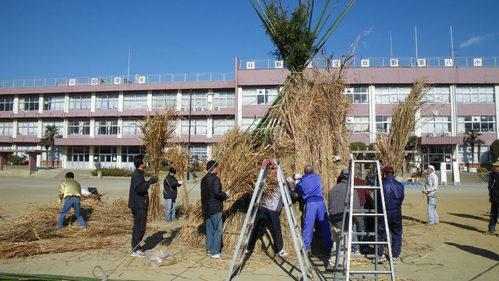どんど焼き2009-3