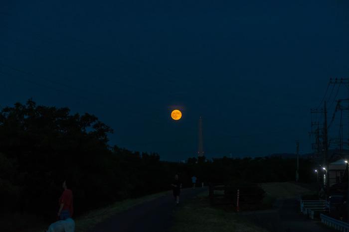 201808夏の満月