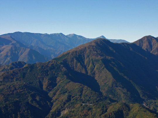 身延山からの富士山-4
