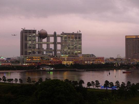 お台場夜景2009-8L