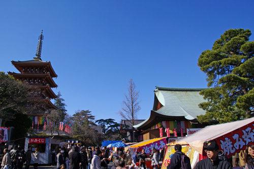 高幡不動尊20100116-11