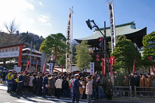 高幡不動尊2010元旦-1