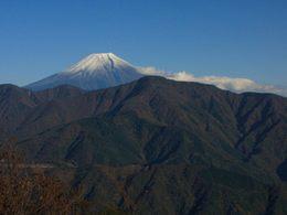 身延山からの富士山-7