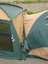 テントとタープ連結3