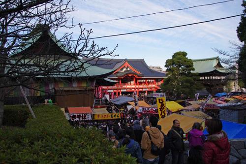 高幡不動2011-01-03