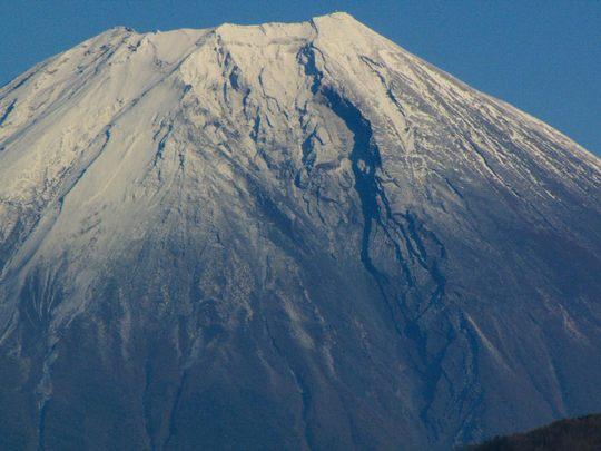 身延山からの富士山-8