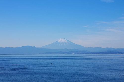 葉山からの富士山201312-2