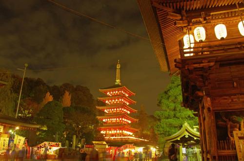 高幡不動尊万燈会201211-8