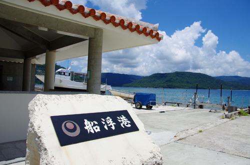 西表島船浮イダの浜201108-4