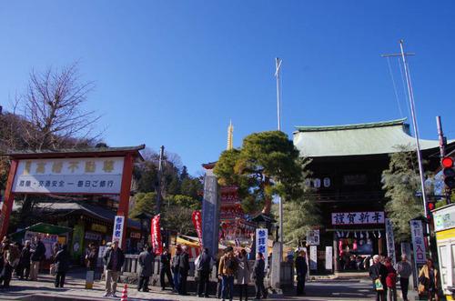 高幡不動尊201201-1