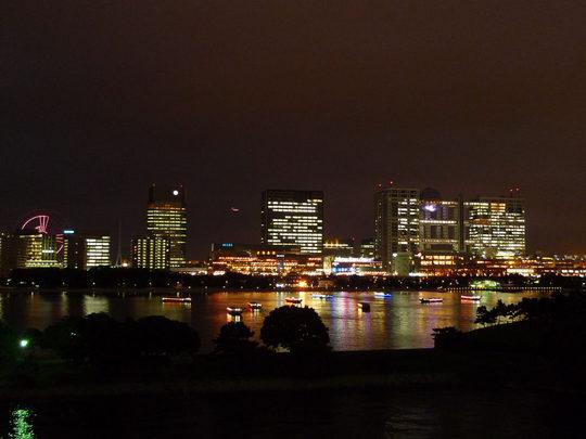 お台場夜景2009-11L