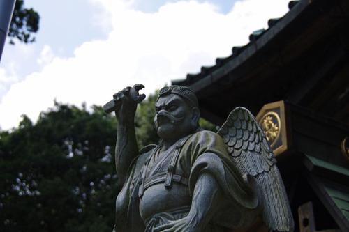 高尾山大天狗小天狗2010-5