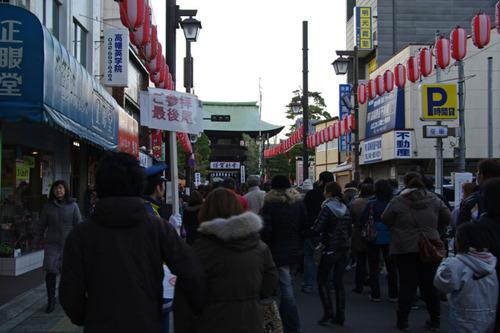 高幡不動尊20110103-2