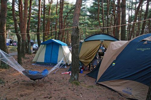本栖湖キャンプ201005-7