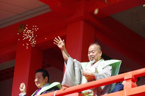 高幡不動尊節分会2013-12