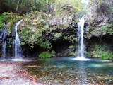 陣馬の滝-2