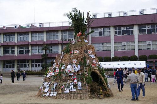 どんど焼き2009-5