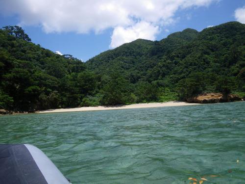 西表島船浮イダの浜201108-6
