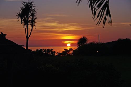 石垣島の夕暮れ201008-4