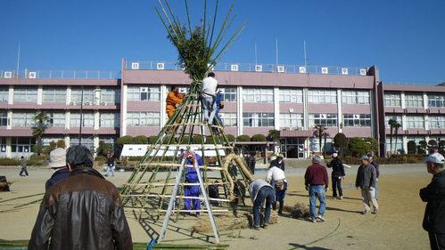 どんど焼き2009-2