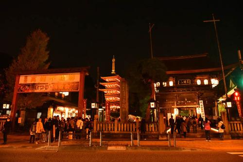 高幡不動尊万燈会2015-11
