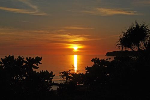 石垣島の夕暮れ201008-5